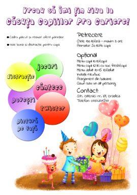 Zile de nastere copii Oradea